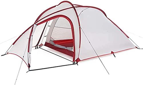 Chuen pulmonar Outdoor impermeable Pop Tent Tent Tents Ultralight Camping Tienda 3 persona Easy Configure doble capa impermeable carpa instantánea para caminatas familiares al aire libre Carpa al aire