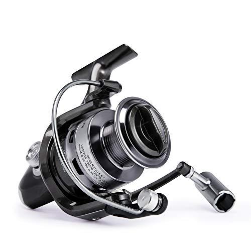 Carrete de Pesca Izquierda/Derecha Intercambiable Alta Velocidad en Agua Dulce Salada Pesca Spinning Carrete(2000)