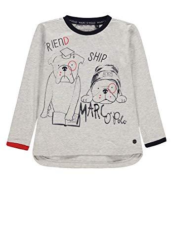 Marc O Polo Kids T Shirt 11 Arm Gris Cuba Modasangray 8456 92 Cm Taille Fabricant 92 Garçon