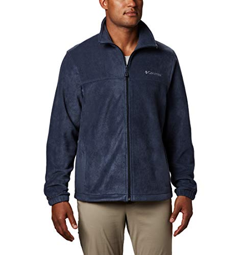 Columbia Men's Big and Tall Steens Mountain 2.0 Full Zip Fleece Jacket, Collegiate Navy, 4X