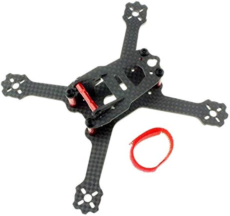Laliva Mini ALFASQX135 135mm Quadcopter Carbon Fiber True X Frame for DIY Indoor Micro FPV Racing Drone 3045 3 Blade Propeller  (color  ALFASQX135 Frame)