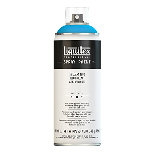 Liquitex Professional - Acrílico en spray, 400ml, azul brillante