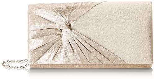 Bulaggi Twiggy Envelope - Pochette da giorno Donna, Avorio (Champagne), 02x12x22 cm (B x H T)