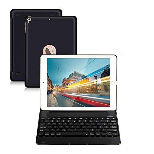 iPad Keyboard Case 9.7 for iPad 2018 (6th Gen) iPad 2017 (5th Gen) iPad Pro 9.7 iPad Air 2 & 1 Wireless Keyboard Auto Sleep/Wake iPad Case with Keyboard (Black)