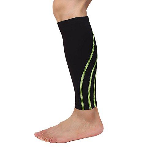 CXZC Inferior de la Pierna Brace Becerro Protectores de Compresión El Alivio del Dolor Polaina Leg Protector Co