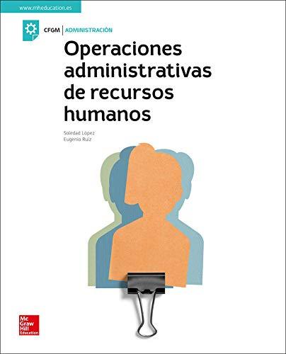 Operaciones administrativas de recursos humanos. Libro alumno