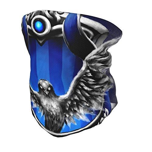 WTYQA Ravenclaw - Pañuelo de tela para niños con cuello elástico de alta calidad, pañuelo de esquí, lavable y reutilizable, pasamontañas para niños y niñas