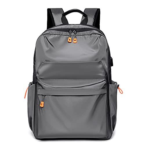 QIANJINGCQ Trendy Backpack Men's Casual Travel Bag Computer Bag Backpack High School Junior High School Student School Bag Men's Bag Backpack