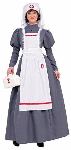 Endless Road 77823 Civil War Nurse Adult Dress Florence Nightingale Gray