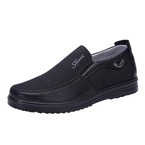 clasificación y comparación Fannyfuny_Zapatos Zapatos casuales estilo azul marino para hombre Zapatos con cordones Zapatos de noche… para casa
