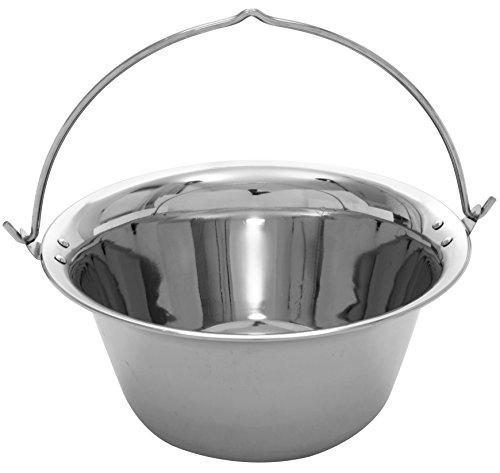 Grillplanet 1167 Gulaschkessel Edelstahl 20 Liter