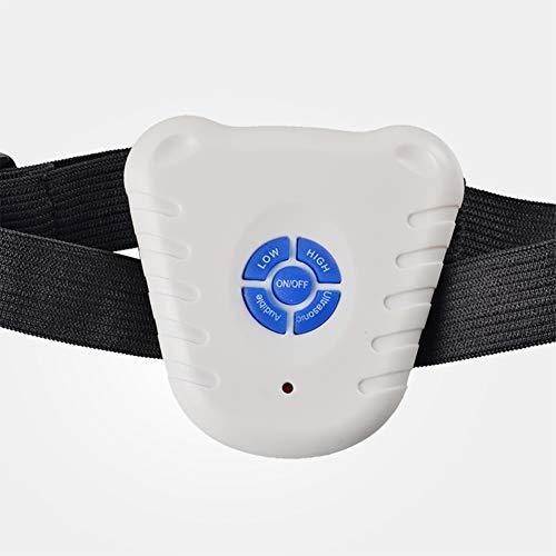 Hundetrainings-Kragen - Wiederaufladbare Anti Barking Gerätehundehalsband Best for Small, Medium, Large Hunde keine schädlichen und kein Schmerz for einen Hund, hypoallergen