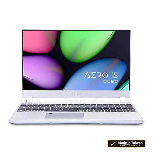 (テレワーク クリエイター向け)GIGABYTE AERO 15 4K有機ELパネル採用ノートパソコン・All Intel Inside/Microsoft Azure AI/ 15.6インチ/OLED 4K /Samsung メモリ採用/Intel SSD/ (OLED | GTX 1650 | i7-9750H | 8G*1 |256G PCIe SSD)