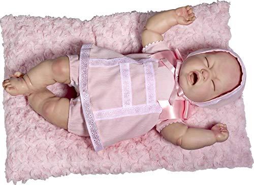 Rosa Toys Reborn Vestido roas Pique
