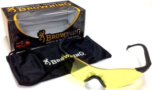 Browning Schiessbrille, Claybuster, Gelb Schutzblende, schwarz, One Size