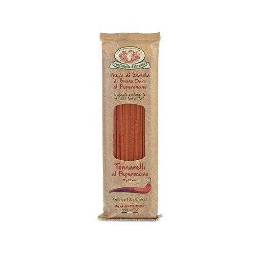 Rustichella d'Abruzzo Durum Wheat Japan's largest assortment Tonnarelli Chili Pepper Purchase Spagh