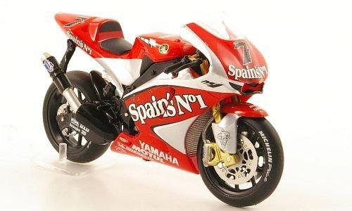 YAMAHA YZR-M1, No.7, Team Gauloises Fortuna, MotoGP, 2004, Modellauto, Fertigmodell, IXO 1:24
