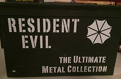 Resident Evil Blu-Ray 1-6 The Ultimate Metal Collection