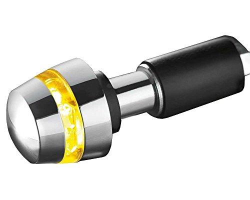 Lenkerendenblinker Kellerman BL 2000 chrom, Highpower-LED, Motorrad