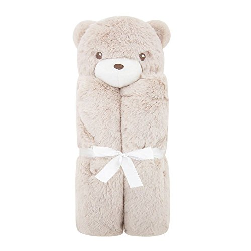 Crystallly Couverture De Bébé Swaddle Inflant Toddler Couverture Polyester Peignoir Serviette Simple Style Simplicité Style Classique De La Mode (Color : Cute Bear, Size : Size)