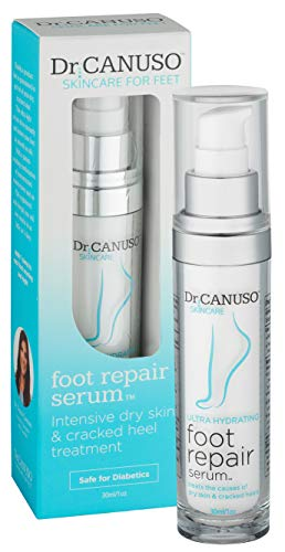 Foot Repair Serum - Fast Treatment for Dry, Cracked Heels, Eczema, Flaky Irritated Skin, Moisturizing Lotion...
