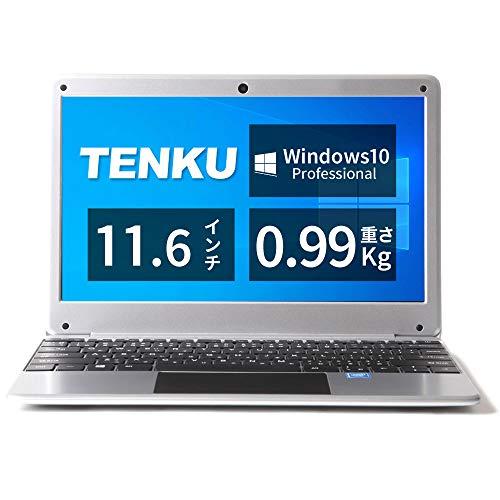 TENKU ノートパソコン Comfortbook S11 軽量1Kg Windows 10 Pro搭載(CerelonN3350/4GB/64GB/11.6型IPS Full...