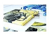 Kreul 87215 – Solo Goya Pouring Fluid, flüssiges Acrylmedium für Gieß- und Fließtechniken, auf Wasserbasis, optimiert das Fließverhalten von Acrylfarben, 2500 ml Eimer - 4