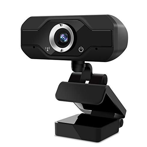 Supoggy Webcam PC con Micrófono Full HD 1080P/Webcam Portátil para PC/Cámara Web para Video Chat y Grabación, Compatible con Windows, Mac y Android