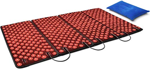 DGYAO Red Light & Infrared Therapy Pads for Whole Body Pain Relief LED Light Pain Relieve Panel Deep Penetrate Therapy Device