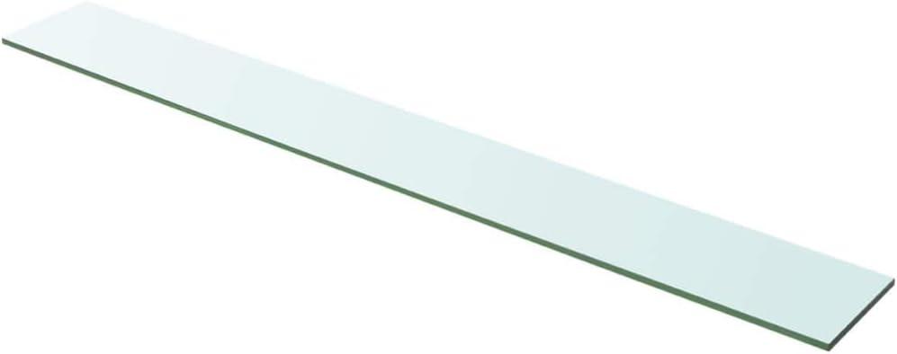 Tidyard 2 STK Wandregal Glas mit 8mm ESG Sicherheitsglas Badregal Glasregal Badablage Glasablage Glasboden Regalboden Schwarz 30x10 cm Gr/ö/ßen
