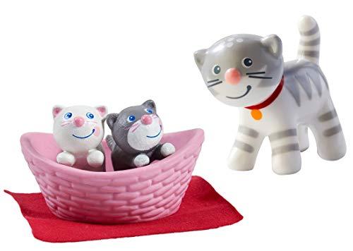 HABA - Kater Mau und Katzenbabys im Set, 303891+303674