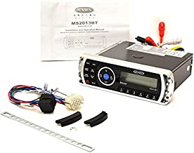 Jensen MS2A MS2013BT Am/FM/Sub Waterproof Stereo with Bluetooth