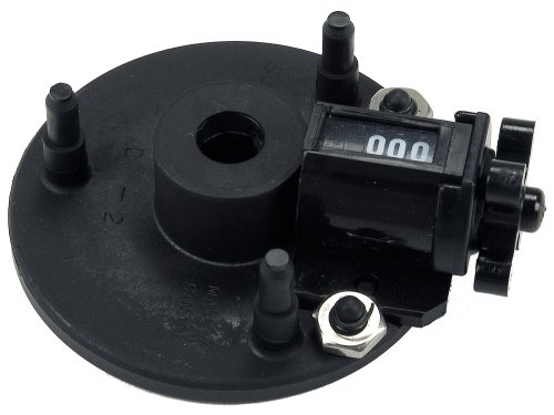 Scotty #1146 Counter Only for Manual Downriggers , BLACK , Small