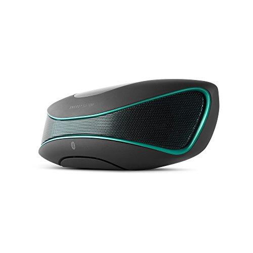 Energy Sistem Music Box B3 - Altavoz portátil (función manos libres, Bluetooth) negro y verde