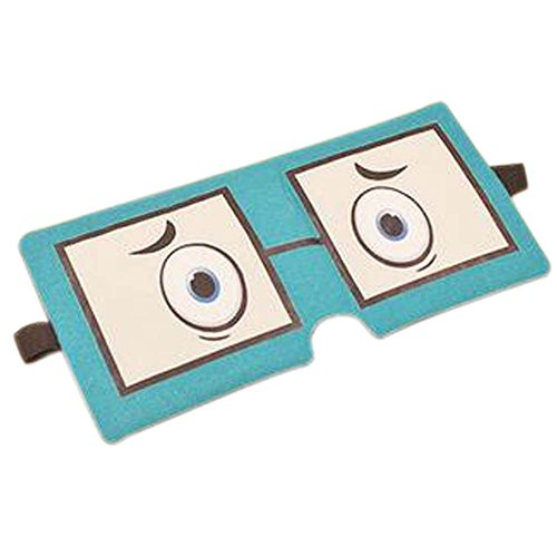 Eye Mask Sleep Breathable Office Confortable Lovely Personnalité Eyeshade