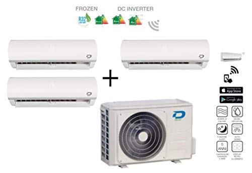 Wifi Optional Klimaanlage Diloc Serie Frozen R32 24000 Btu A+