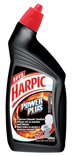 Desinfetante Sanitário Power Plus Líquido 500 Ml, Harpic, 500 Ml