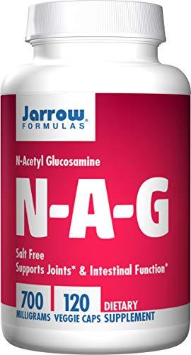 Jarrow Formulas N-A-G (N-Acetyl-D-Glucosamine) - 120 vcaps 120 Unidades 140 g