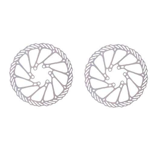Discos De Freno De Bicicleta 2pcs 180 Mm De Metal De Freno Rotores Reemplazo MTB Rotores Accesorios De Ciclismo