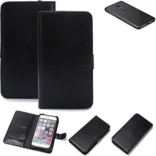 K-S-Trade® Handy Schutz Hülle Für Meizu Pro 6S Schutzhülle Bumper Schwarz 1x
