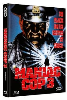Maniac Cop 3 - Limited Mediabook Collectors 2 Disc Uncut Edition (Cover A oder B) - DVD - Blu-ray
