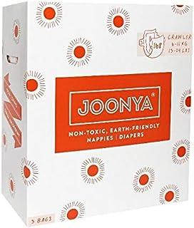 Joonya Baby Nappies - Size 3 Crawler (6-11 kg) - Non-Toxic, Eco-Friendly Nappies - Cotton Enhanced, Ultra Slim Design with...