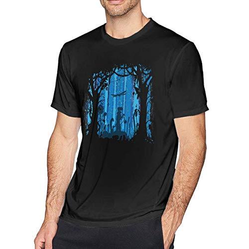 Rockboy T-Shirt Confort Nausicaa de La Vallée du Vent pour Homme Noir, XL