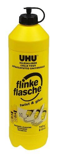 UHU Alleskleber Flinke Flasche, Praktische Nachfüllflasche für den bewährten Klassiker, 760 g