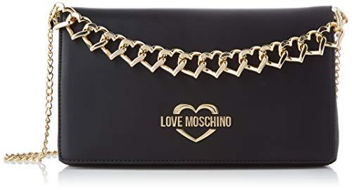 Love Moschino Jc4259pp0a, Pochette da Giorno Donna, Nero (Black), 6x16x26 cm (W x H x L)