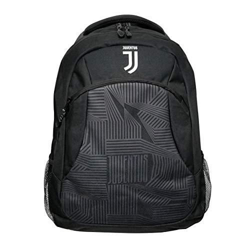 Icon Sports Mochila premium oficialmente licenciada pela Fan Shop UEFA Champions League Futebol Juventus, cor da equipe, OSFM