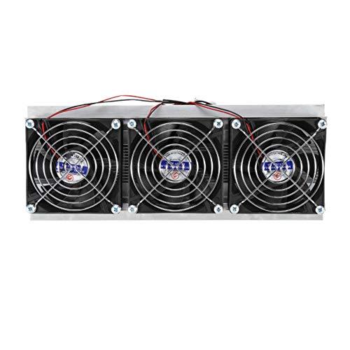 Refrigeradores termoeléctricos, Kit de piezas de refrigeración semiconductores Dispositivo de refrigeración por aire Peltier termoeléctrico