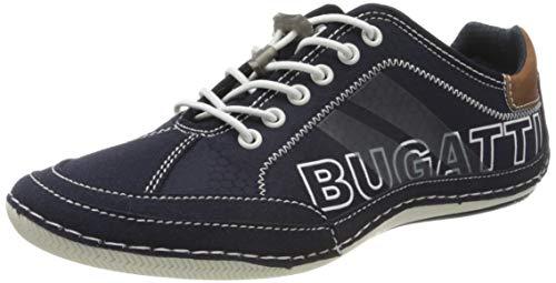 bugatti Herren 321480095400 Sneaker, Blau, 43 EU