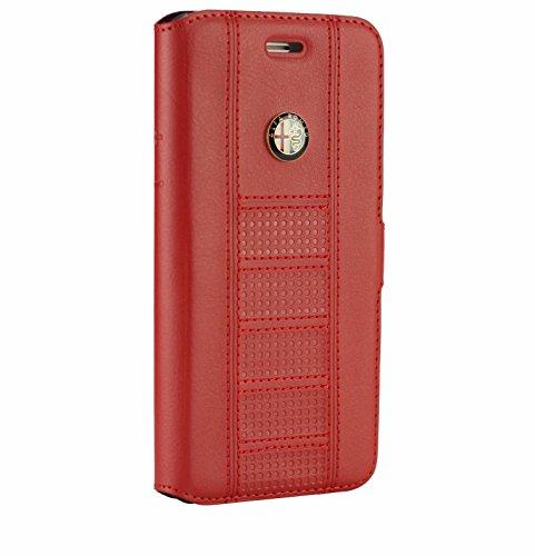 Funda de Lujo para iPhone 7 Plus, diseño Oficial de Alfa Romeo GL D2, Color Rojo