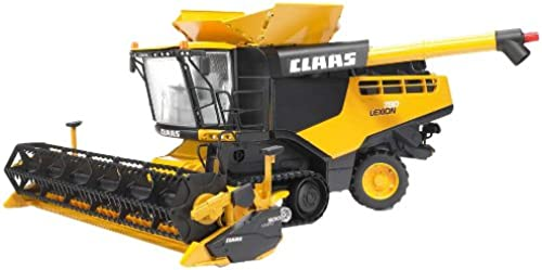 Bruder Claas Lexion 780 Combine Harvester, Gelb by Bruder Toys